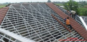 Pasang atap baja ringan gubeng surabaya