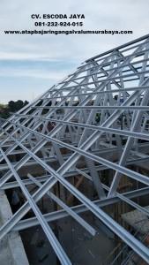 aplikator jasa pasang atap baja ringan surabaya 2021