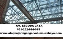 Jasa pemasangan rangka atap baja ringan sidoarjo dan surabaya