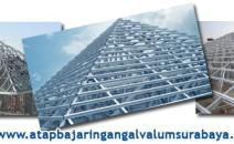 Jasa Pasang Rangka Atap Baja Ringan (Galvalum) 081232924015 di Surabaya, Sidoarjo, Gresik