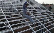 pasang atap baja ringan harga murah surabaya
