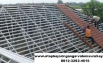 Jasa pemasangan atap baja ringan area Sidoarjo